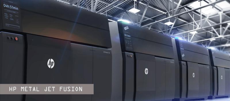 Conheça a Metal Jet, nova impressora 3D da HP capaz de produzir peças de aço